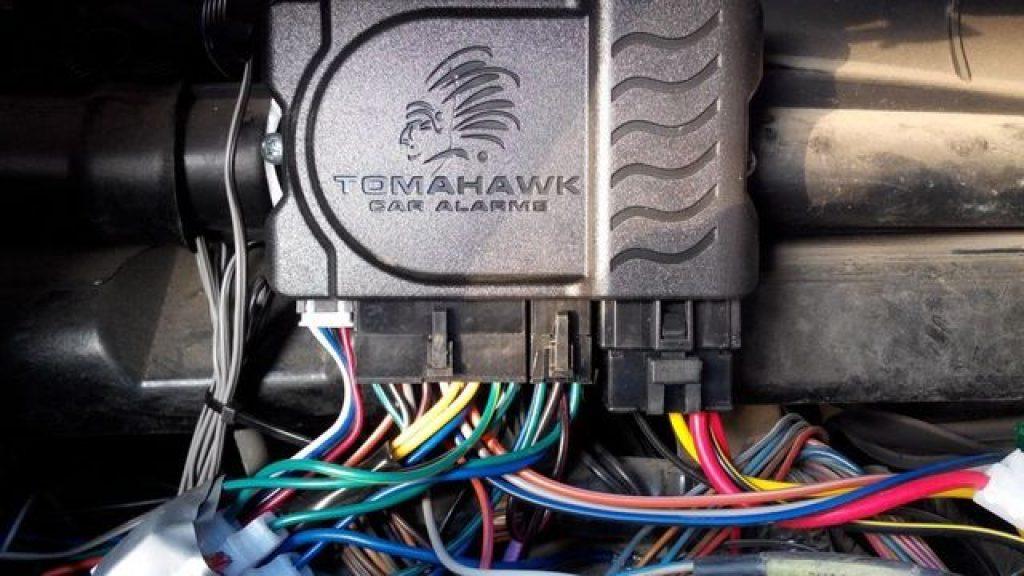 car alarm computer control unit