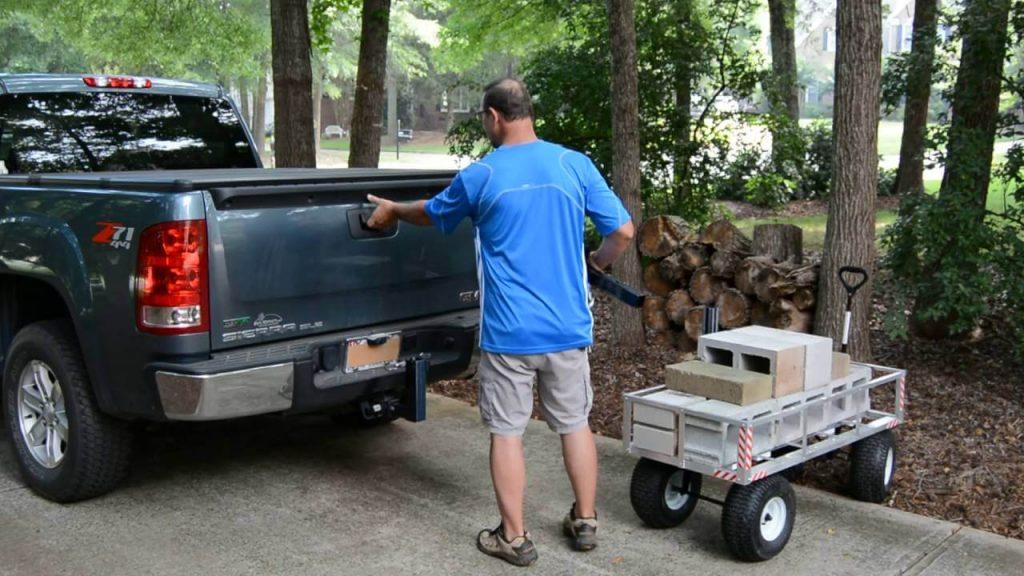 trailer hitch rack