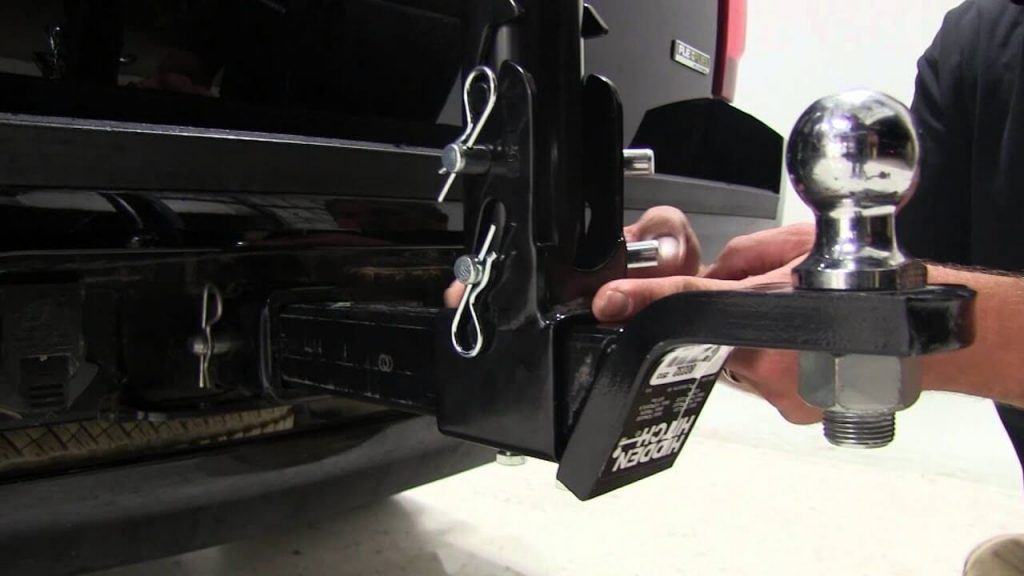 installing a hitch mount cargo box