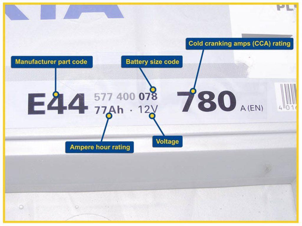 car battery diagrams