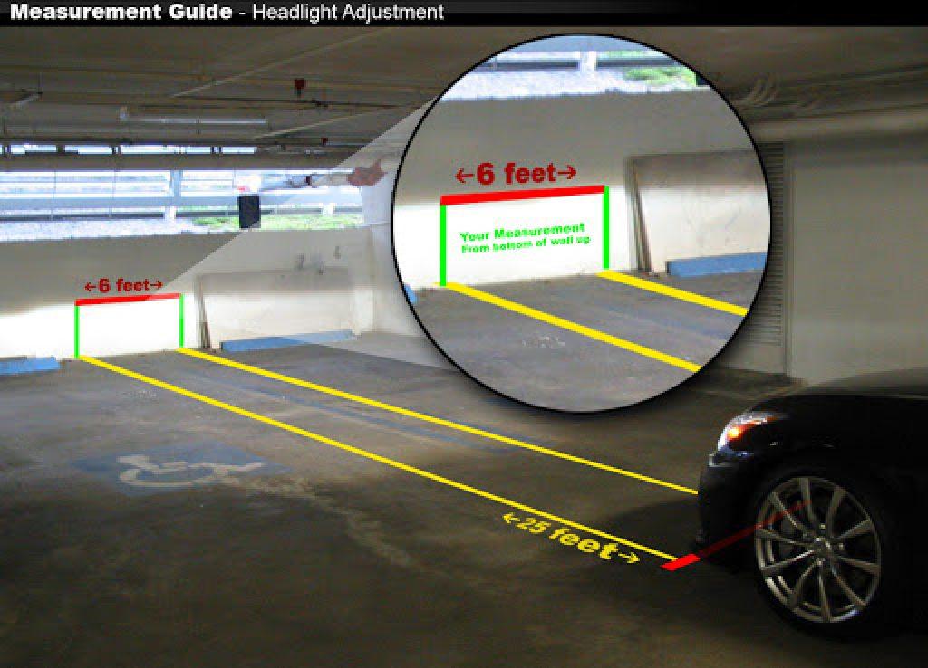 how to adjust projector headlights