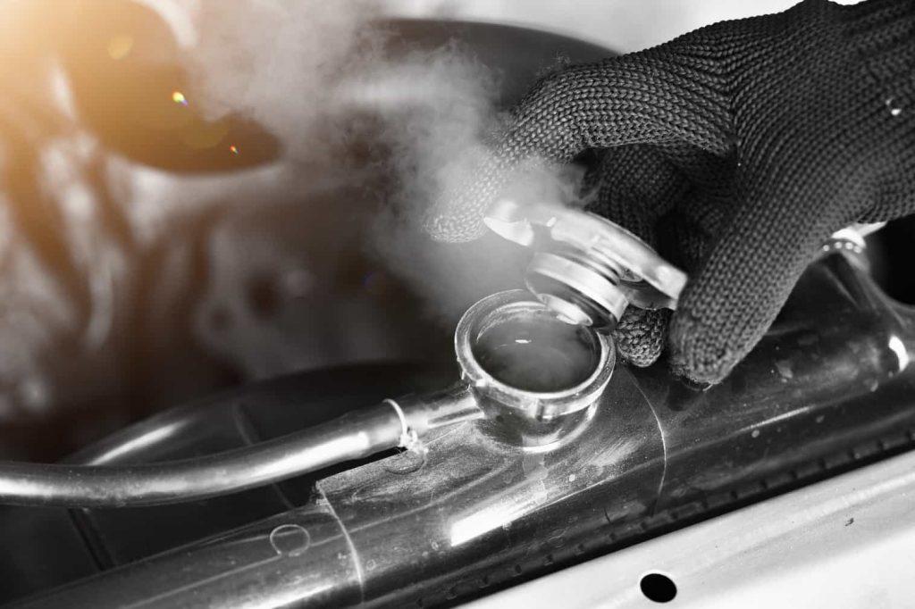 car radiator temperature