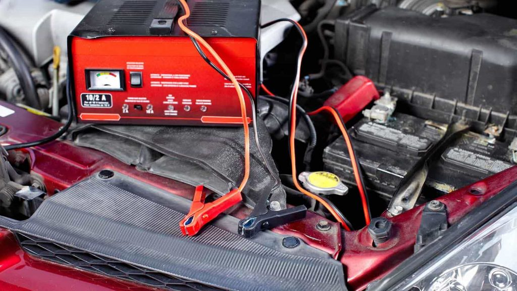 charging a battery car
