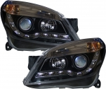 FRONT HEADLIGHTS VAUXHALL ASTRA H