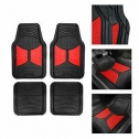 FH Group F11313 Monster Eye Trimmable Floor Mats (Red)