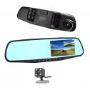 Car DVR Rear view mirror video recorder dashcam