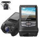 Crosstour Dual Dashcam Front and Rear FHD 1080P