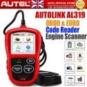 Autel AutoLink AL319 OBD2 Scanner Automotive Engine Fault Code