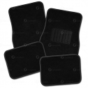 Zone Tech All Weather Carpet Vehicle Floor Mats- 4-Piece